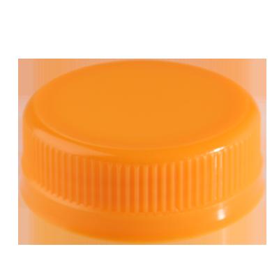 JUICE BOTTLE CAPS - ORANGE - Plastic Bottle Caps PNG