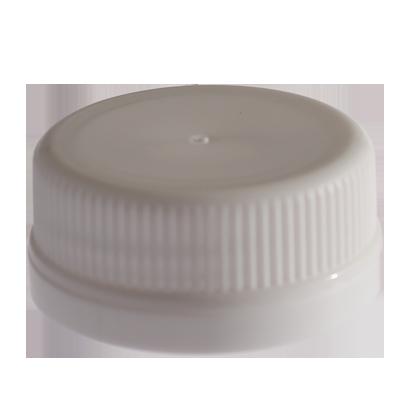 JUICE BOTTLE CAPS - TAMPER EVIDENT - WHITE - Plastic Bottle Caps PNG