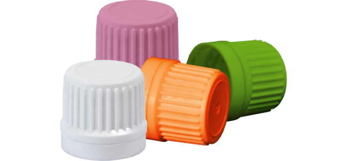 Plastic bottle cap Φ18mm with security ring and sealing ring | - Plastic Bottle Caps PNG
