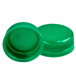 SSJ LDPE Tamper Evident 38mm Screw On Cap - Plastic Bottle Caps PNG