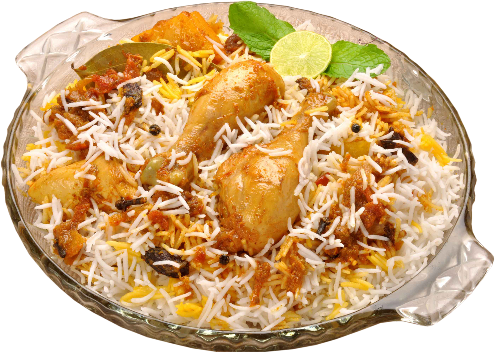 Chicken Biryani Plate - HD Images PNG - Plate HD PNG