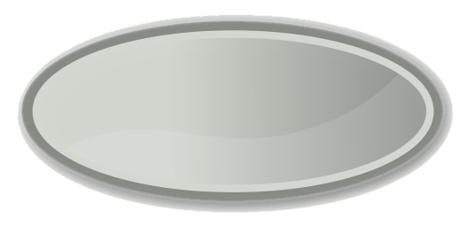 Oval Png Hd PNG Image - Plate HD PNG