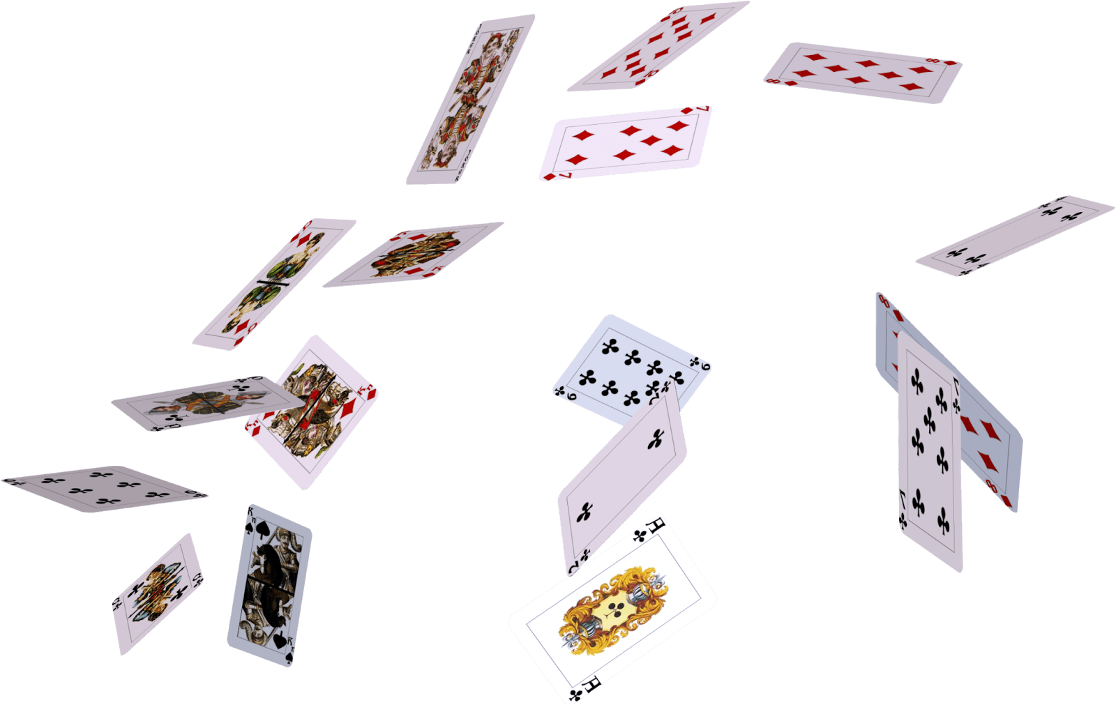 Playing Cards PNG HD - 149314