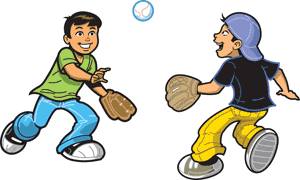 Catchball - Playing Catch PNG