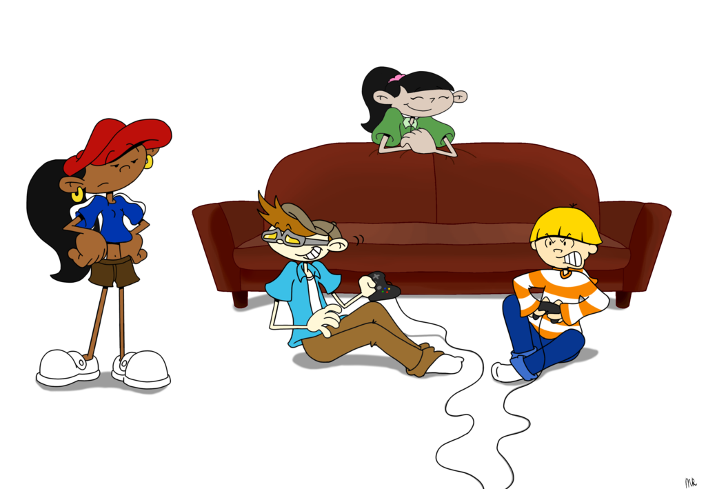 Playing Video Games PNG - 56241