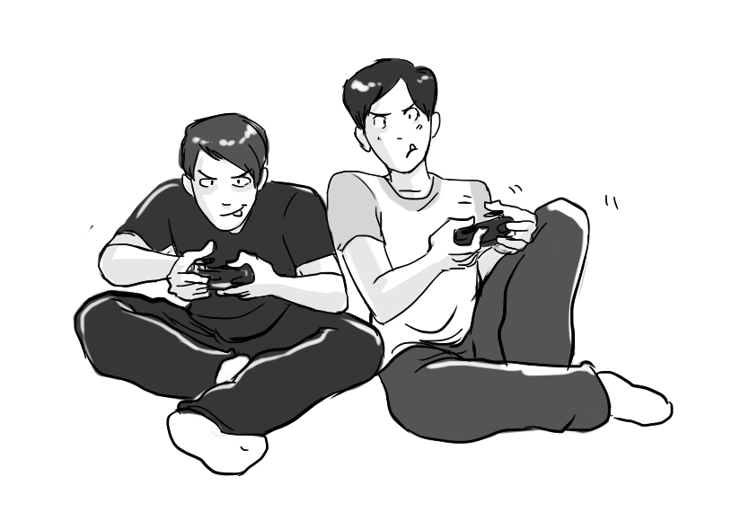 Playing Video Games PNG - 56244