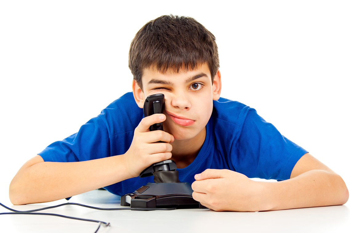 Playing Video Games PNG - 56240
