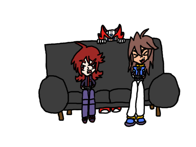 Vent and Silver playing video games.png - Playing Video Games PNG