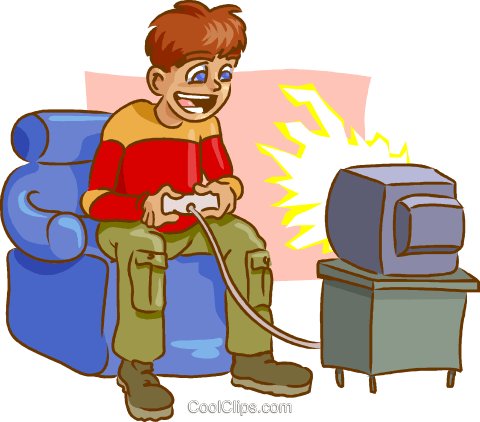 Playing Video Games PNG - 56233