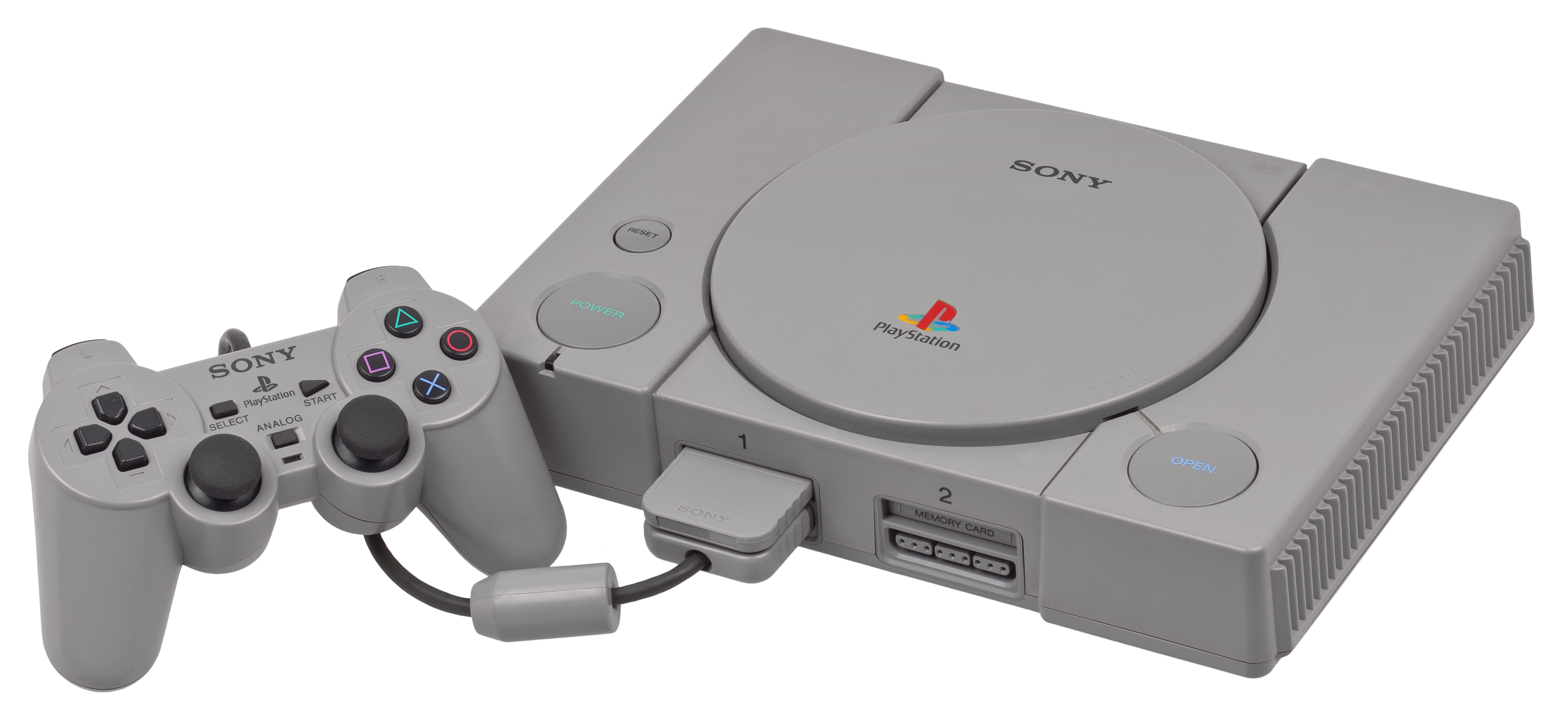File:PSX-Console-wController.png - Playstation PNG