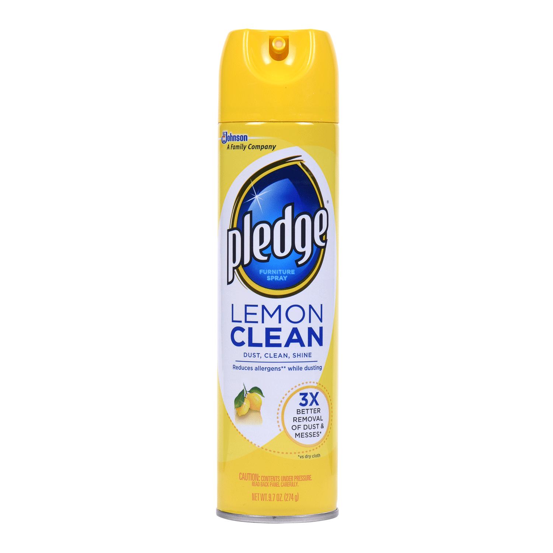 Pledge® Lemon Clean Furniture Spray - Pledge PNG