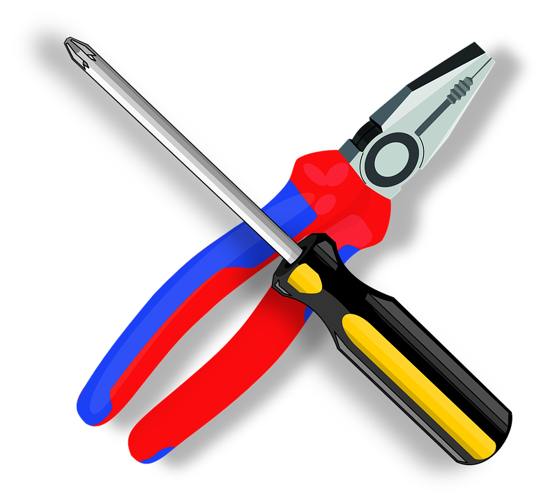 Tool, Pliers, Screwdriver, Construction, Equipment - Pliers HD PNG