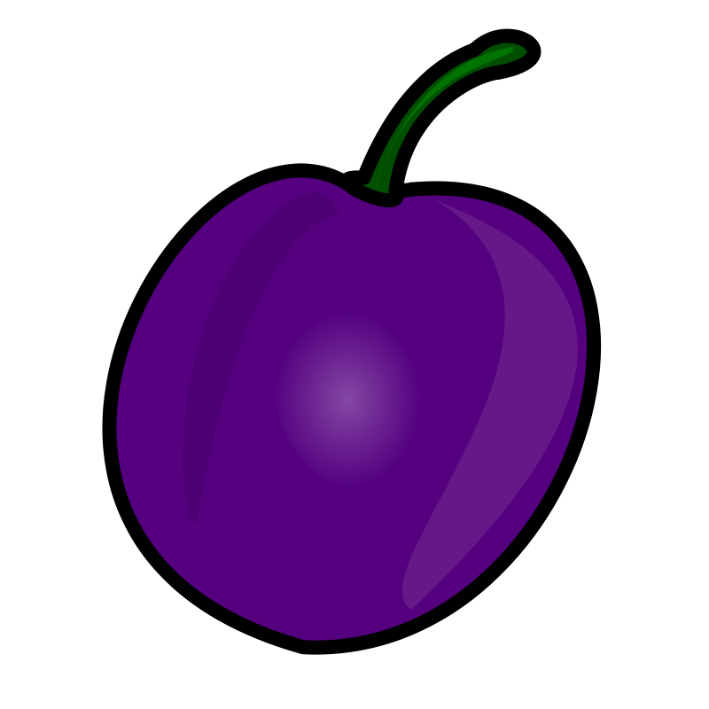 Plum png clipart - Plum PNG