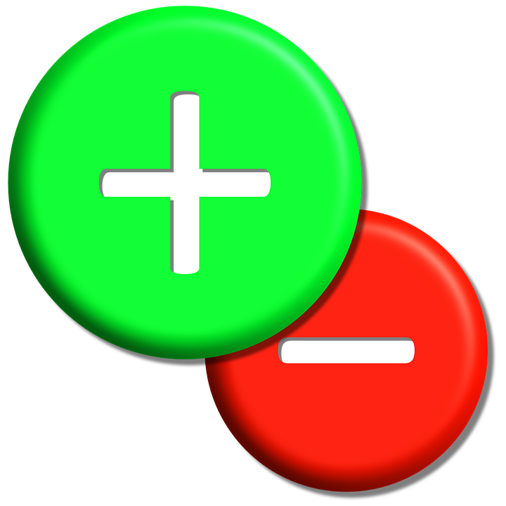 plus minus circle icon buttons opposites trend - Plus And Minus PNG