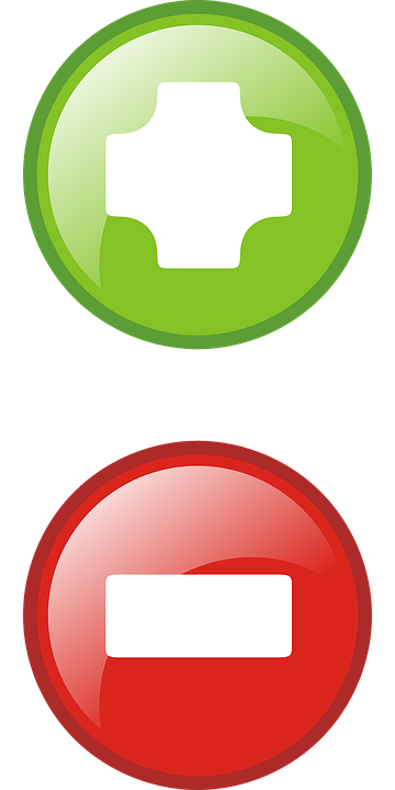 plus minus icons symbols red button green add - Plus And Minus PNG