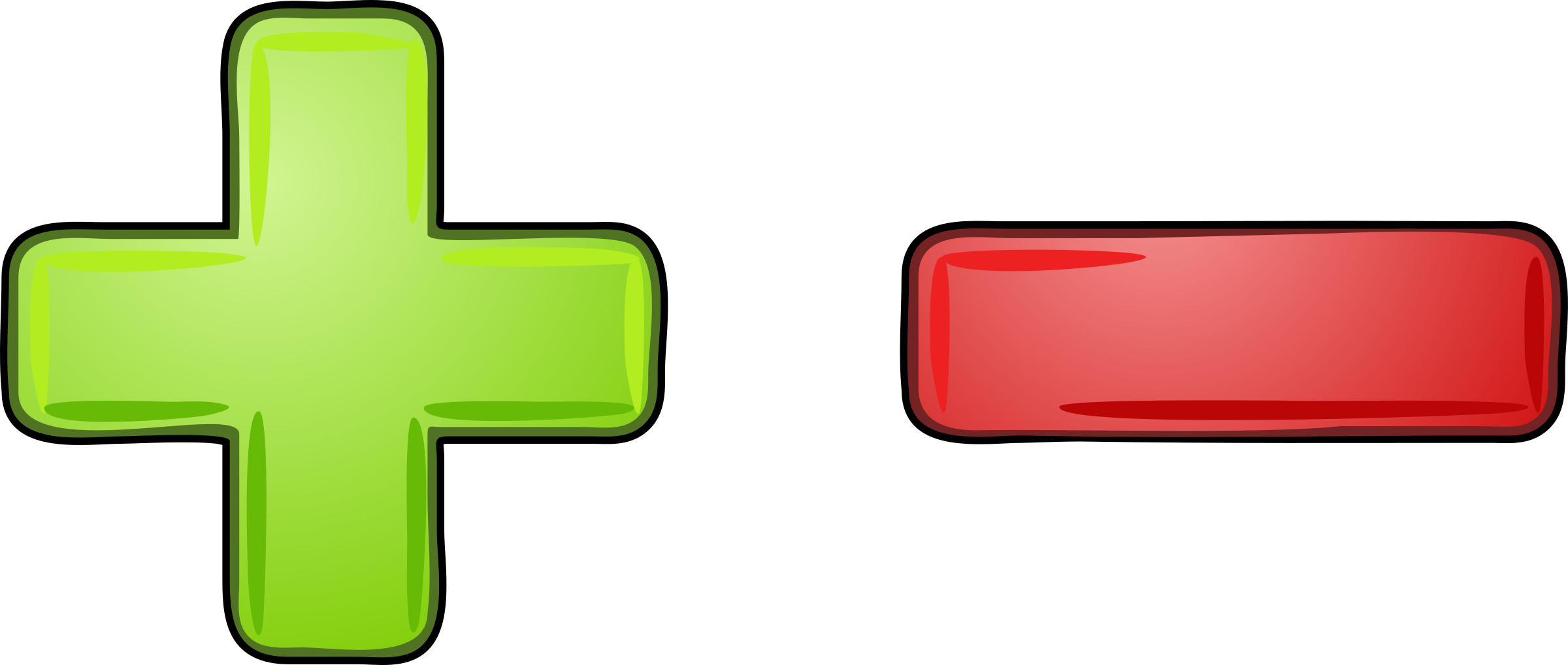 This free Icons Png design of Plus - Minus PlusPng.com  - Plus And Minus PNG