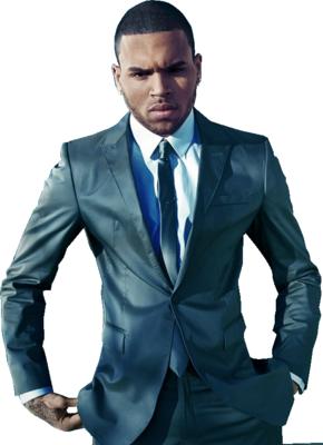 Chris Brown PNG - 6400