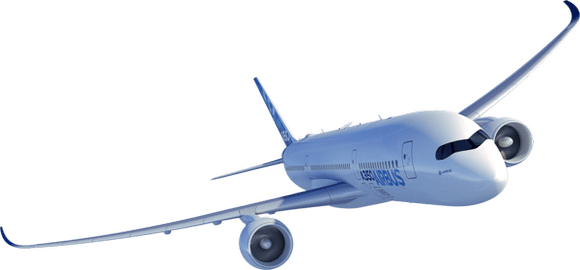 png 580x270 Airbus 350 transparent background - Airbus PNG