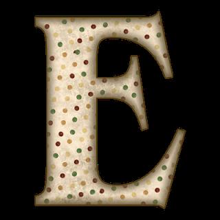 PNG Alphabet Letter E On Burlap - 165256