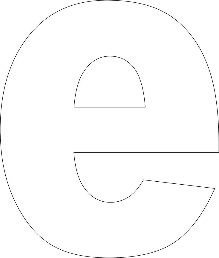 It's just a picture of Letter E Printable with small