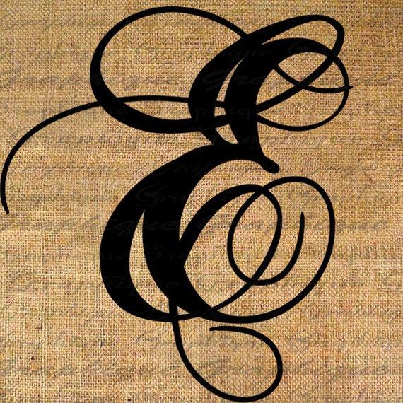PNG Alphabet Letter E On Burlap - 165258