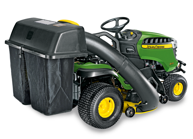 John Deere 2-Bag, 6.5-Bushel Rear Bagger (100 Series) Yard u0026 Lawn Care  Riding Mower Attachments - PNG Bager