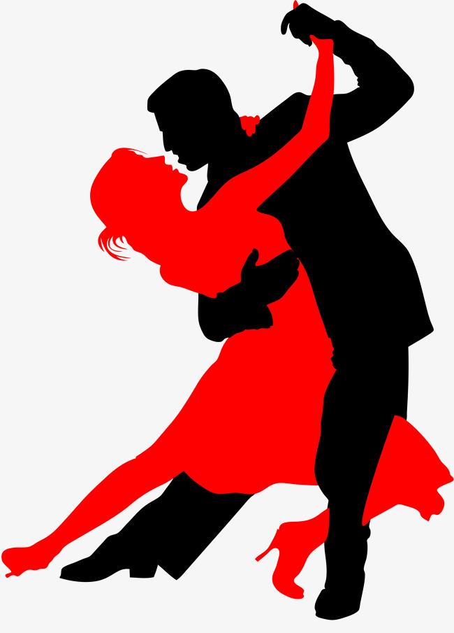 La silueta de baile Gratis PNG y Clipart - PNG Baile