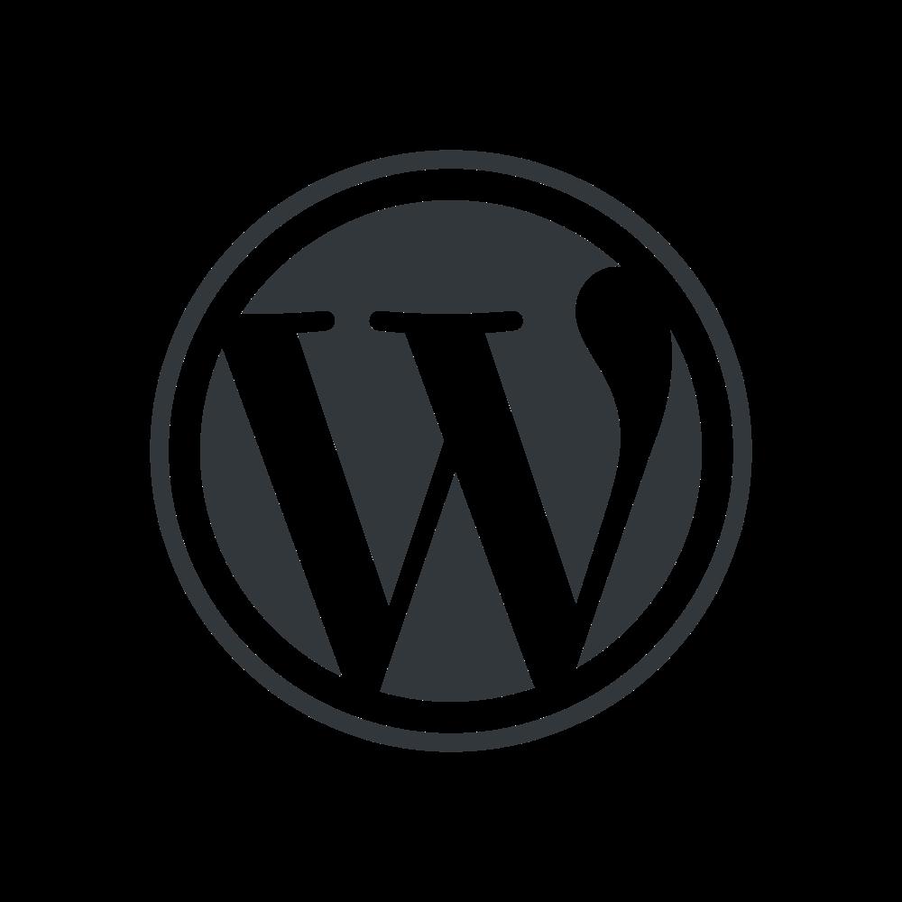 . PlusPng.com PNG (BaseGray/transparent) PlusPng.com  - Wordpress Logo PNG