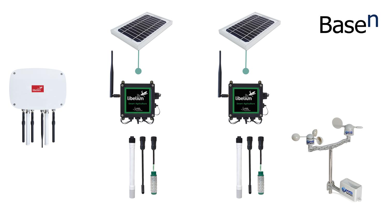 Libelium-BaseN Smart Golf Solution Kit - PNG Basen