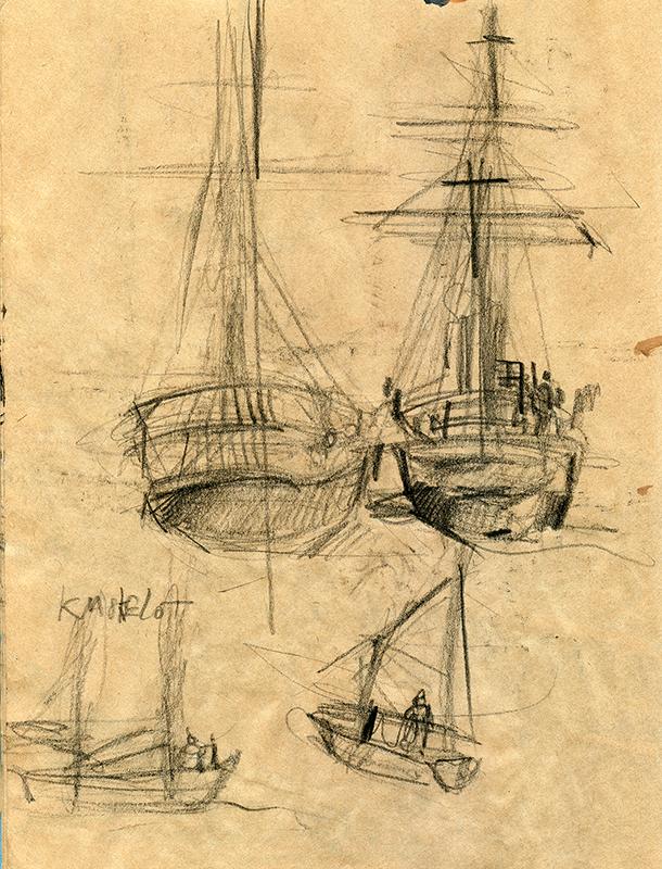 gouaches-bord-de-mer-13.png - PNG Bord De Mer