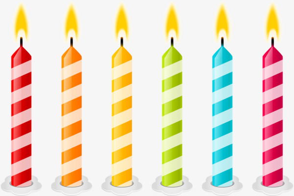 birthday candles, Candle, Cartoon Candle PNG Image and Clipart - PNG Candles Free