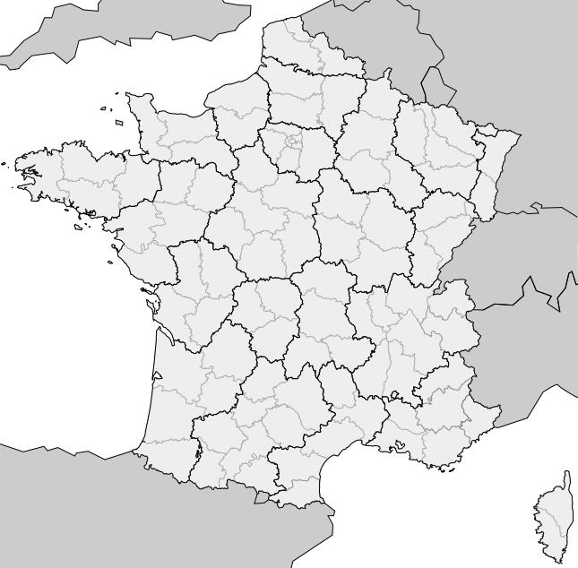 File:Carte France Geo Dep.png - PNG Carte De France