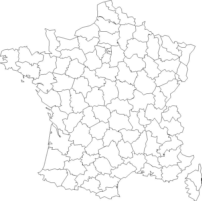 Géographie Au Cycle 3 - FORMATION ECOLES - DIGNE (04) - PNG Carte De France