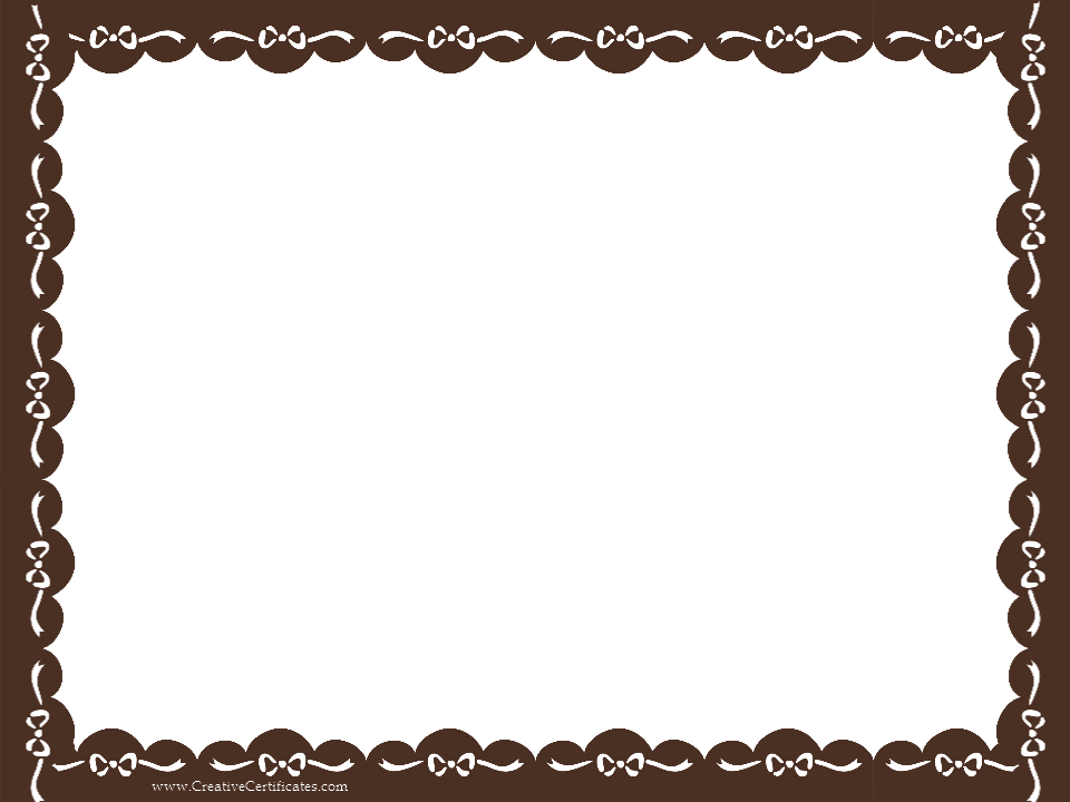 PNG Certificate Borders Free - 142010