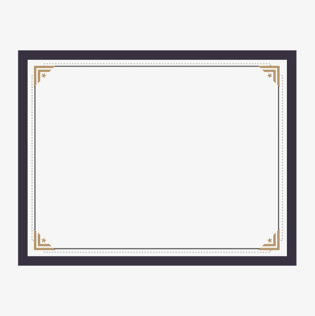 certificate border design, Vector Diagram, Certificate Of Shading, Frame PNG  and Vector - PNG Certificate Borders Free