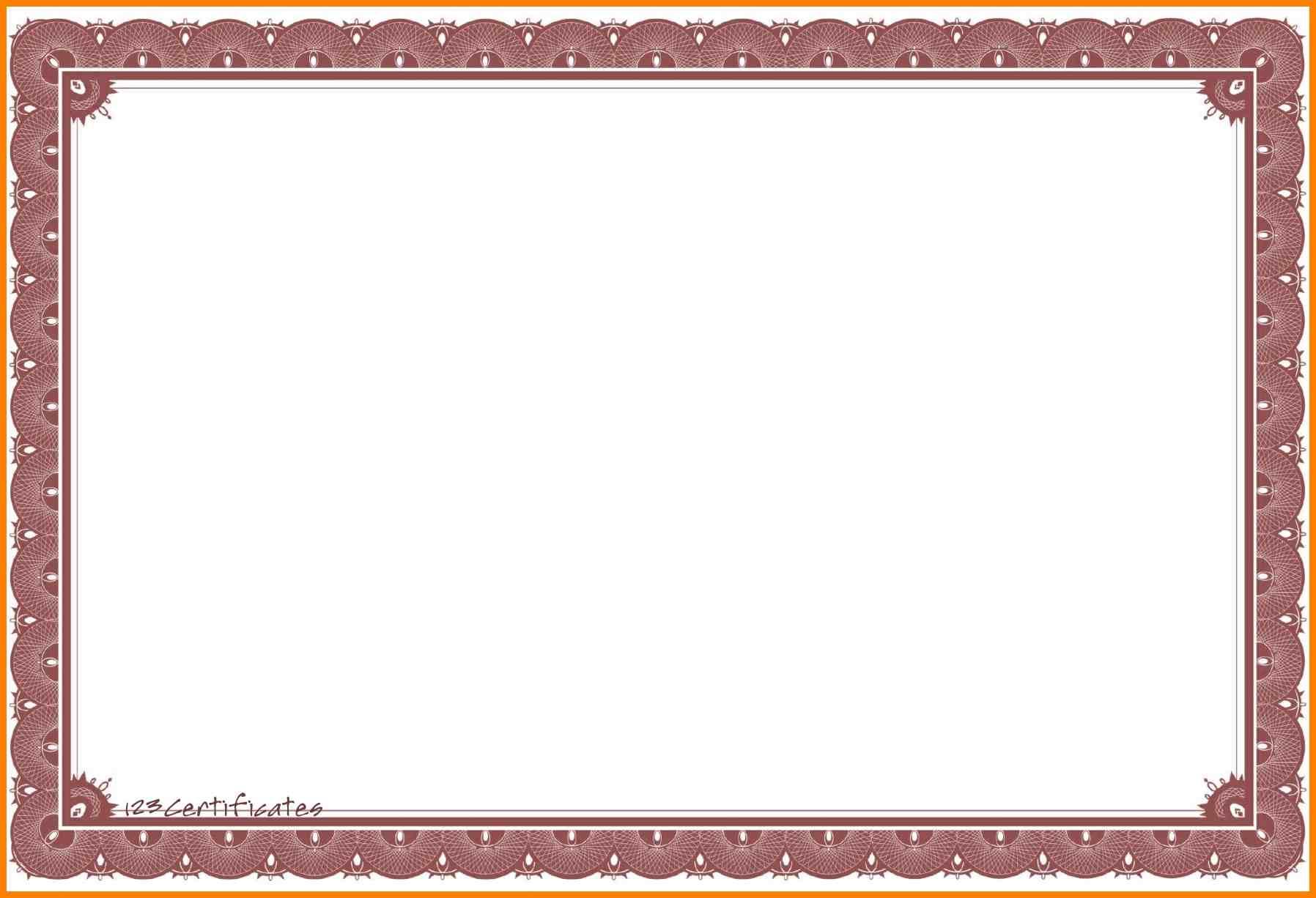 PNG Certificate Borders Free - 142018