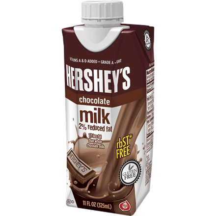 2% Chocolate Milk (Case of 12) 75468600001225 Hershey11oz2RFChoc768.png - PNG Chocolate Milk