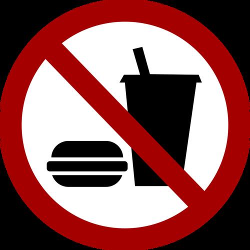 Nessuna immagine di segno vettoriale cibo e bevande - PNG Cibo E Bevande