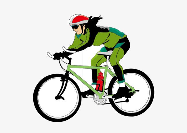 Figura de dibujos animados de ciclismo, El Hombre, Ciclo, Verde PNG y Vector - PNG Ciclismo