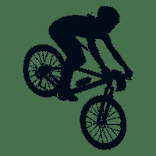 Hombre ciclismo silueta Transparent PNG - PNG Ciclismo