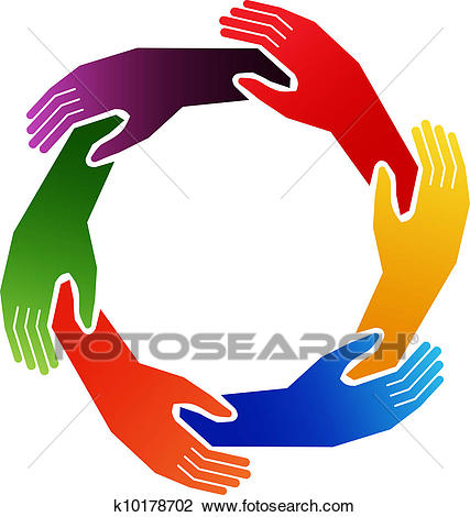 Hands in circle - PNG Circle Of Hands