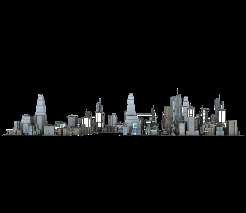 PNG City Buildings-PlusPNG.com-800 - PNG City Buildings