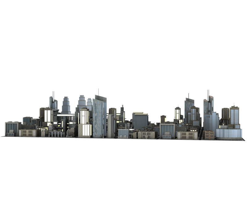 Large city buildings #2 great back drop bg! by madetobeunique PlusPng.com  - PNG City Buildings