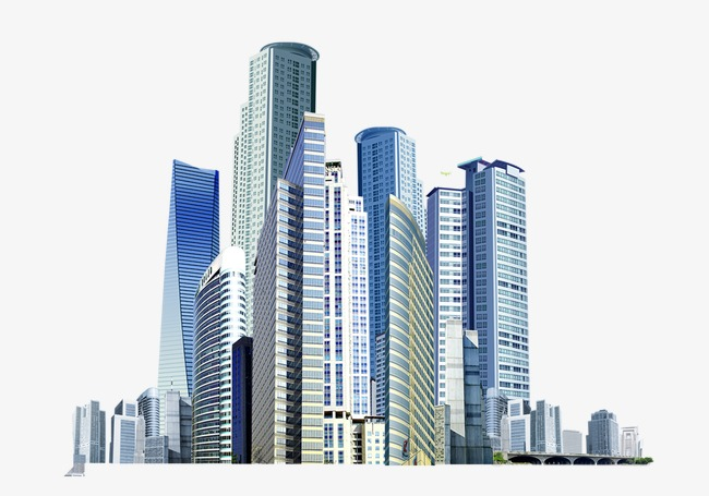 Virtual city skyscrapers buildings, High Rise, Building, City building PNG  Image - PNG City Buildings