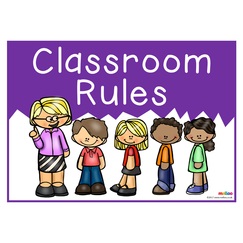 PNG Classroom Rules - 141515