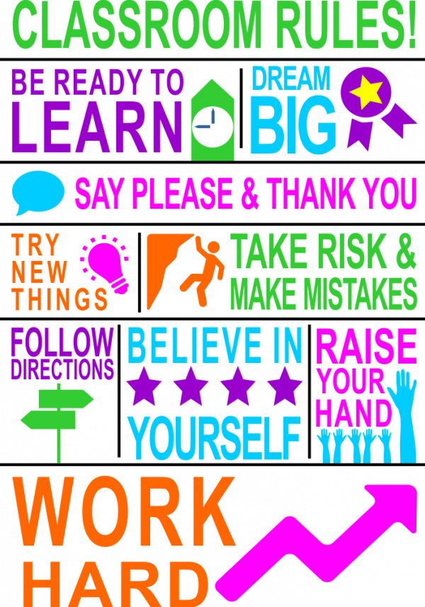 PNG Classroom Rules - 141508