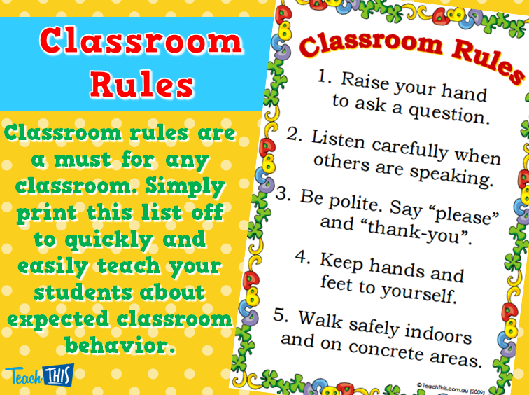 PNG Classroom Rules - 141510