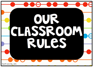 our classroom rules - PNG Classroom Rules