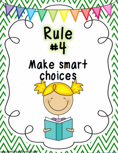 rule #3 rule #4 - PNG Classroom Rules