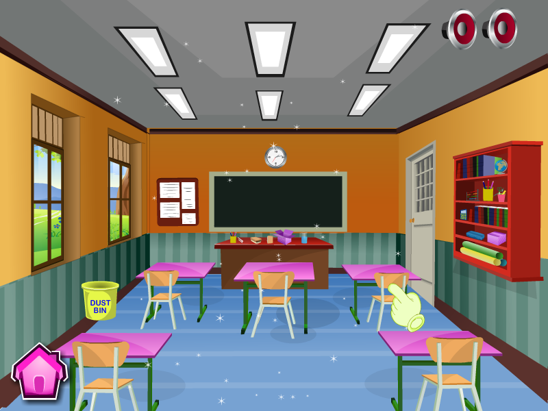 PNG Cleaning Classroom - 138532